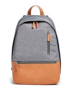 6c98d9437c0e Skagen Krøyer Recycled Twill and Leather Backpack SMH0235016 1 Tomboy  Style