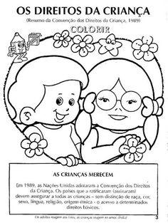 Desenhos E Atividades Para O Dia Das Criancas Sugestoes De