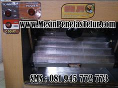 Jual Mesin Penetas Itik Otomatis      Tipe C – 75  -       Kapasitas maksimal 75 butir (posisinya berdiri)  -       Daya listrik yang diperlukan yaitu 20 watt 220 V  -       Ukuran 50 x 30 x 32 cm  -       Bahan Medium Density Fiberboard (MDF) dan multipleks  Untuk Pemesanan Silahkan SMS : 081 945 772 773