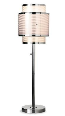 art deco design | ... Art Deco Table Lamp With Pink Mesh-Laced Shades | Home Interior Design