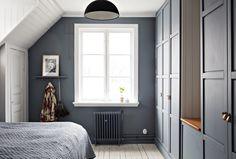 På Balsamingatan   Johanna Bradford Bedroom Loft, Master Bedroom, E Room, 1920s House, Attic Rooms, Good Night Sleep, Bradford, Interior Inspiration, Interior And Exterior