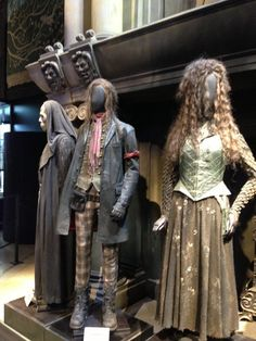 harry potter costume designer | Narcissa's costumes are by far my favourite; the corsetry, the design ...