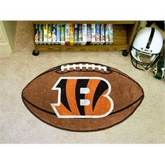 Cincinnati Bengals Football Floor Rug Mat