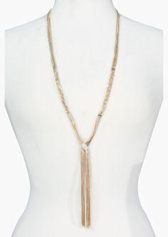 Braided Tassel Necklace | Shop for Braided Tassel Necklace Online