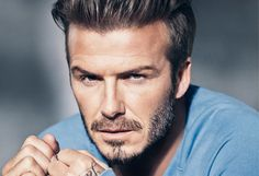 David Beckham posa para H&M.