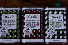 a set of three olive oil tins ♥