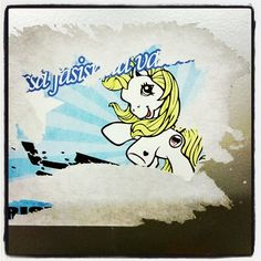 #MyLittlePony is #againstfasism #againstfasists #streetart #tinystreetart #itis maybe #katutaidetta #tarra