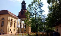 Kulturkirche i Neuruppin Fontaneausstellung.