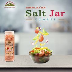 Himalayan Coarse Salt By Himalayan Chef add a refreshing taste to your meal. Pure salt chunks add essential minerals and vitamins to your meal. Chef #HimalayanChef #CoarseSalt #HealthySalt #Goodforcooking