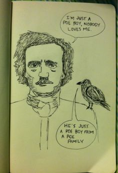 I just couldn't help it- Poe and queen?????