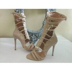 Botina Sanda toc 10 cm Valentino, Shoes, Fashion, Moda, Zapatos, Shoes Outlet, Fashion Styles, Shoe, Footwear