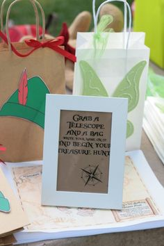 Peter Pan Neverland Birthday Party Games, Activities & Favors - Treasure Hunt | Marigold Mom