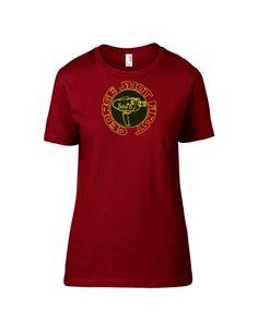 Camera Blaster Tee - Short Sleeve Women's T-Shirt (Saber Crimson Red)