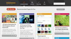 StumbleUpon lanza su nuevo diseño y nuevas funciones para todos sus usuarios http://www.genbeta.com/p/72323