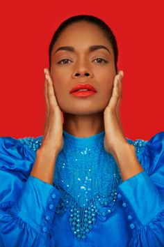 Naomie Harris shows hot to wear bright colors in a cover story for the February 6th, 2017 issue of New York Magazine, lensed by Erik Madigan Heck and styled by Rebecca Ramsey.