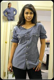 ACT Style Blog: DIY Men's Shirt Refashion