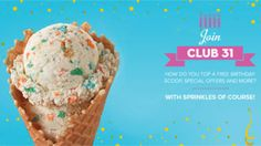 FREE Scoop of Ice Cream on Your Birthday at Baskin-Robbins on http://www.canadafreebies.ca/