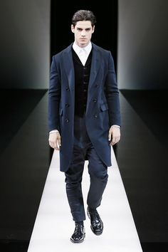 A First look at the Romance Menswear collections by Giorgio Armani for Fall/Winter 2015/16 as seen at their latest fashion show.