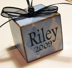Personalized+Baby+Boy+First+Christmas+by+SaidInStoneOnline+on+Etsy,+$12.50. USA