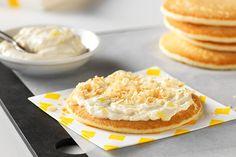 Pineapple-Coconut Pancakes http://www.kraftrecipes.com/recipes/pineapple-coconut-pancakes-186340.aspx?cm_mmc=eml-_-rbe-_-20160419-_-1105&cm_lm=C521F5B438B052783B9742425D88EB9A&bt_he=DCB616ECC0BB37D391412745A7F36E4F87BCCB2F34B2F2B465803CE93B9438A3