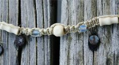 The colors used in this anklet were inspired by the almost completely untouched beaches here on Andros Island, Bahamas.
