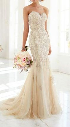 Strapless Wedding Dress Inspiration