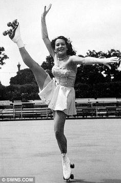 Glory days: Miss Jocelyn Taylor