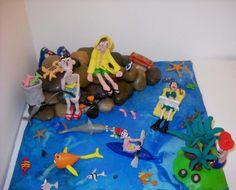 The Summer - Plasticine Art