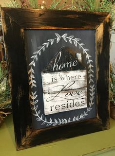 Wood Sign  Rustic Home Decor  Rustic Wood by RiOakWesternDesign