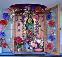 Guadalupe Shrine Mexico (2007). One of Mexico's many shrines dedicated to the Virgen de Guadalupe