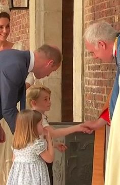 PRINCESS Charlotte has once again stolen the show — and hearts around the world — with her impeccable manners at the christening of baby brother Prince Louis.
