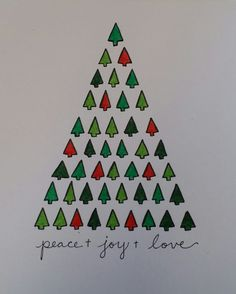 Hand drawn Christmas card www.wordpress.com/lyilastroup