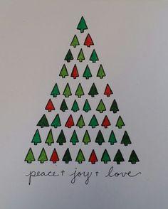 Hand drawn Christmas card www.wordpress.com/lyilastroup