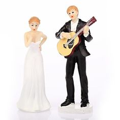 """""""Play Guitar for You"""" Wedding Cake Topper – USD $ 9.99"""