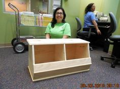 Someone please make this for Amelia :)  Toy Box A La Land of Nod | The Design Confidential Brandon did it