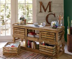 bet this could be made with pallet wood and veggie boxes