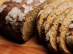 """I just add some """"rye bran"""" which I purchase from Euromax. The rye flour from Bulk Barn is not whole grain so the rye gives it the texture like in Finland. ~ S Finnish Sourdough Rye Bread Sourdough Rye Bread, Estonian Food, Finnish Recipes, Tasty Bread Recipe, Rustic Bread, Scandinavian Food, Our Daily Bread, Paradis, Artisan Bread"""