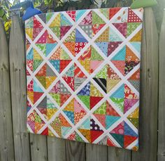 Next Quilt Idea with Lucy's Crab Shack charm pack.