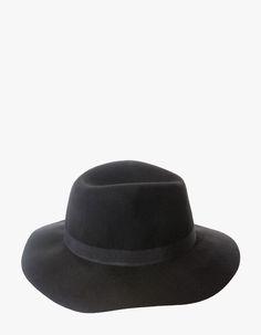 Sombrero fedora lana