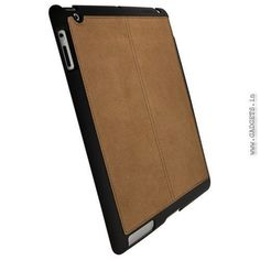 Krusell Luna Tablet UnderCover for Apple iPad 2 Brown Faux (71214)