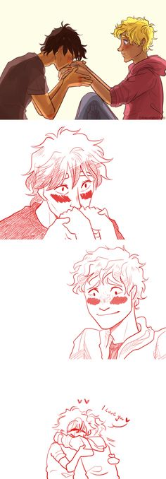 Nico Di Angelo and Will Solace So cuuute