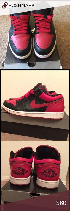 Nike Air Jordan 1 They've been worn a handful of times. They were well taken care of. 100% AUTHENTIC!!! Jordan Shoes Sneakers
