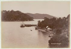Hawkesbury River [showing ferry at wharf]