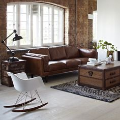 The Catelonia Pillow Back Sofa Sofas Leather Vs Fabric