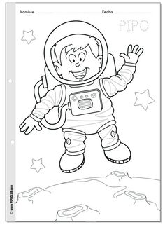 Tiny Traces Years of Pre-School Education Set (Planned) - Preschool Children Akctivitiys Preschool Art Activities, Space Activities, Space Party, Space Theme, Painting For Kids, Art For Kids, Army Birthday Parties, Space Classroom, Alien Art