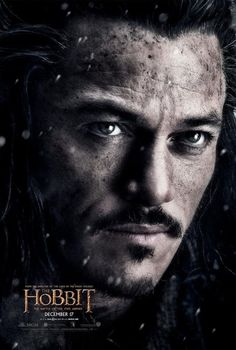 'The Hobbit: The Battle of the Five Armies' Bard Poster w/ Luke Evans