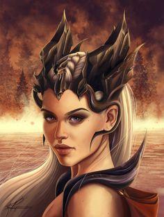 Daenerys Targaryen by KirstyCarter.deviantart.com on @DeviantArt