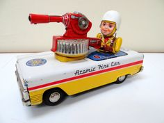 Nomura Atomic Fire Car. Space toy from 50s. ebay