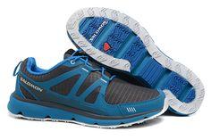Mens Salomon S-Wind Inca Shoes Black Blue