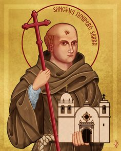 Saint Junipero Serra by Lawrence Klimecki